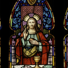 west window, eucharist 2